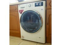 LG, 9kg 6 Motion DD Washing Machine with TurboWash™. 5 months old.