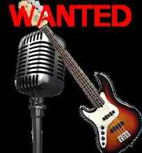 VOCALIST & BASSIST - 80'S TO NOW ROCK COVER BAND Wallsend Newcastle Area Preview