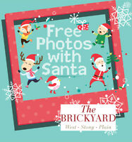 FREE Photos with Santa - Visit the Show Home