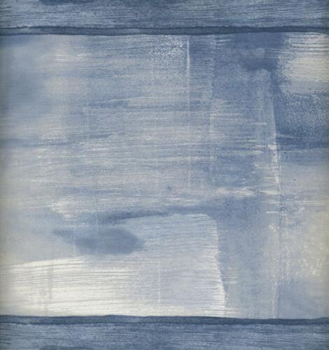 MODERN ABSTRACT SHADES OF BLUE WALLPAPER BORDER