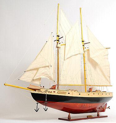 Schooner Bluenose II Wooden Sailing Ship Model 47
