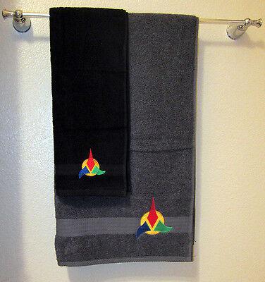 Star Trek Hand & Bath Towel set, Klingon
