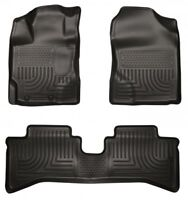 Husky moulded floor mats for Toyota Prius C