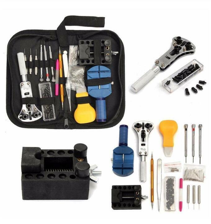 147X Uhr Reparatur Tool kit Uhrenarmband wechsel Remover Entfernen Öffner Satz