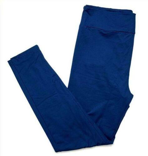 S/M Lularoe Kids Leggings Solid Navy Blue NWT 193925
