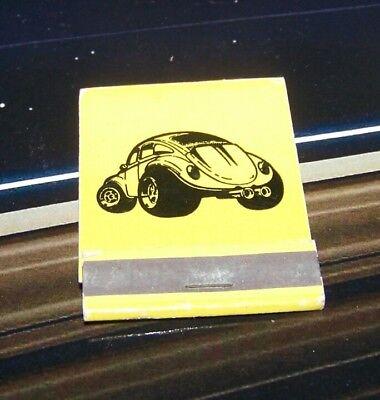 Rare Vintage Matchbook World Wide Auto Buggy Headquarters Lynwood California