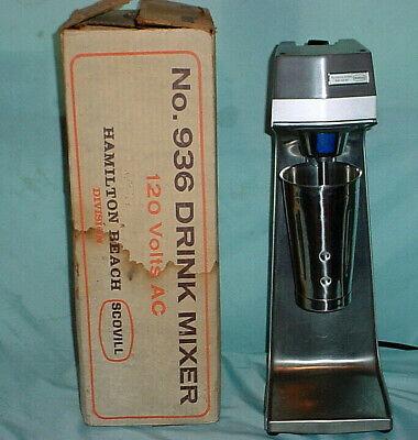 Hamilton Beach Commercial 3 Speed Drink Malt Milkshake Mixer Blender 936 Boxed