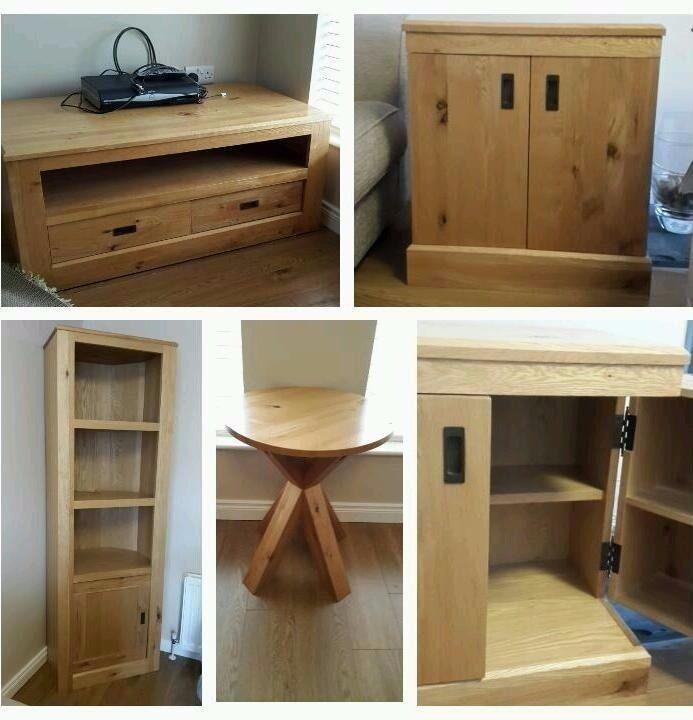 Next Living Room Hudson Matching Coffee Table Side Dvd Media Storage Unit