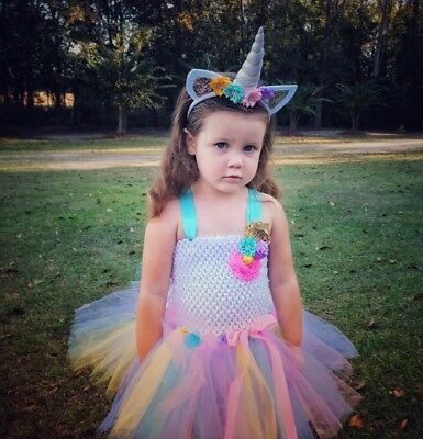 unicorn tutu costume for girls (halloween or pageant ooc)