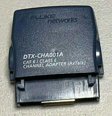 Fluke Networks Dtx-cha001a Cat 6 Channel Adapter For Fluke Dtx-1800