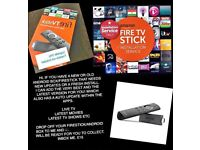 Amazon firestick and android tv box