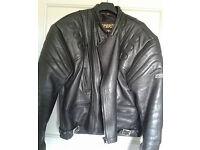 Sportex Apollo leather jacket with body armour size 52