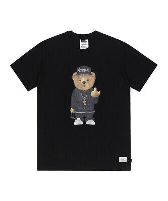 COMPTON BEAR T-SHIRTS BLACK (2XL SIZE)