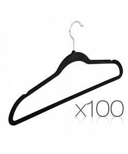 Set of 100 Velvet Coat Hangers Melbourne CBD Melbourne City Preview