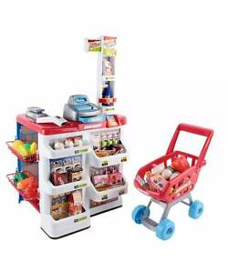 Supermarket Pretend Play Set Red White Melbourne CBD Melbourne City Preview