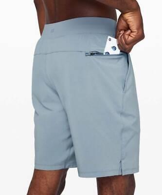 "Lululemon Men's T.H.E. Short 9"" Lined CHBY Chambray Blue Size XL"