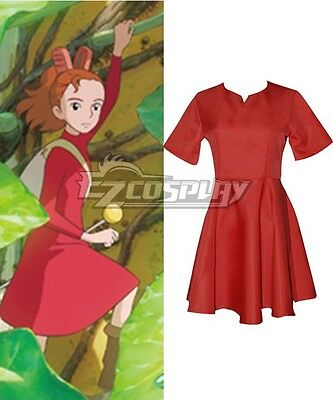 The Borrower Arrietty The Secret World of Arrietty Arietti Dress Cosplay Costume