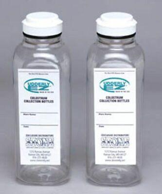 Udderly Ez Goat Colostrum Milk Bottles Pint 16 Oz 2 Bottles Replacement