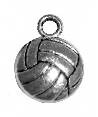 Volleyball Charm (use for volleyball bracelet, earrings, etc.)](Volleyball Charm Bracelet)