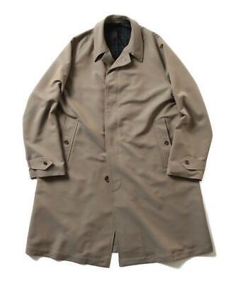 BEAMS PLUS Original Bal Cuello Abrigo 111911018036722 Oliva Talla XL Nuevo De