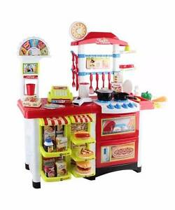 Kitchen Supermarket Pretend Play Set Red White Melbourne CBD Melbourne City Preview