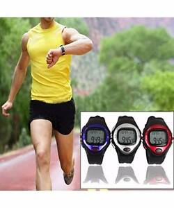 Exercise Pulse Heart Rate Monitor Calorie Counter Sports Watch Si Melbourne CBD Melbourne City Preview
