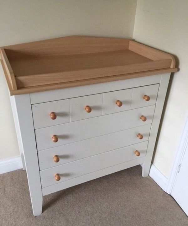 Mamas And Papas Baby Changing Unit Table Chest Of Draws Free