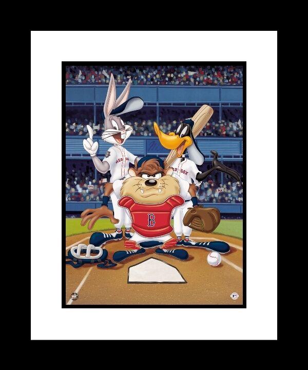 Boston Red Sox Baseball Warner Bros Bugs Bunny Looney Tunes Sports Collectible