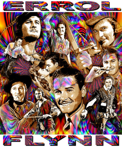 ERROL-FLYNN-TRIBUTE-T-SHIRT-OR-PRINT-BY-ED-SEEMAN