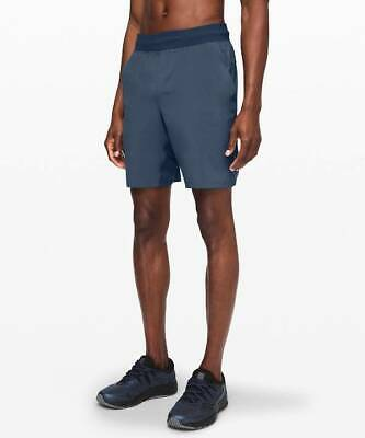 "Lululemon Men's T.H.E. Short 9"" Linerless CDBE Code Blue"