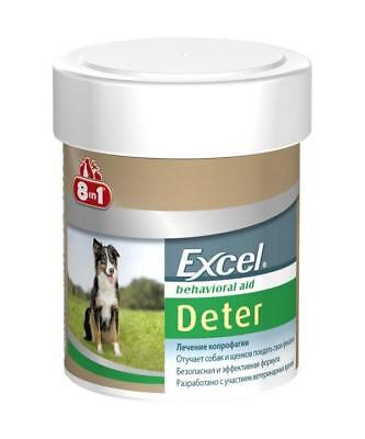 8 in 1 Excel Deter PREVENTS COPROPHAGIA, Treatment 100 count/Tabs - DOG training