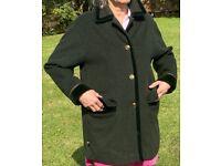Tirolian loden cloth coat