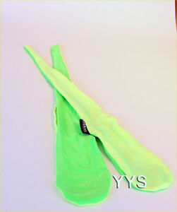 Zeekio-Sock-Poi-Two-Tone-Green-Quality-Stretch-Material-POI-with-Bean-Bags