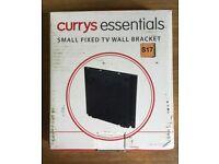 Small tv wall bracket