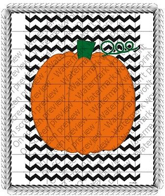 Halloween Pumpkin ~ Frosting Cake Topper ~ Edible Image ~ D20427 - Halloween Cakes Pumpkin