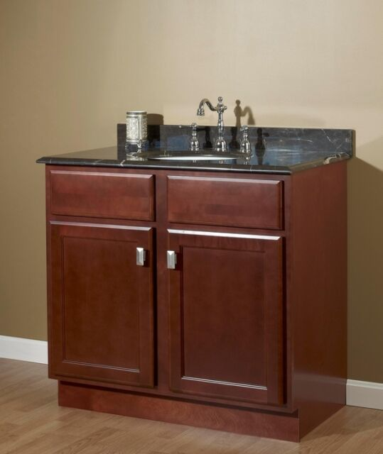Bathroom Vanity 24 X 21 24 x 21 craftsman salem cherry shaker bathroom vanity cabinet 2
