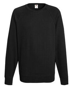 Herren Sweatshirt Fruit of the Loom Pullover Shirt Pulli Jacke I S M L XL XXL