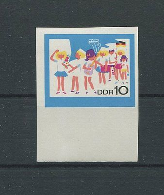 DDR PH 1432 PIONIERE 1968 PHASENDRUCK Mi 100.- MUSIC SCOUTS PROOF RARE!! d881