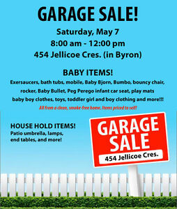 Garage Sale, LOTS of Baby Items!