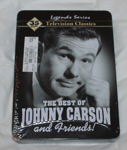 Vintage Johnny Carson Show with freinds new in collector tin