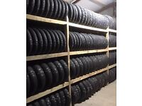 Part Worn Motorcycle Tyres, all common sizes in stock an immediate fitting available.