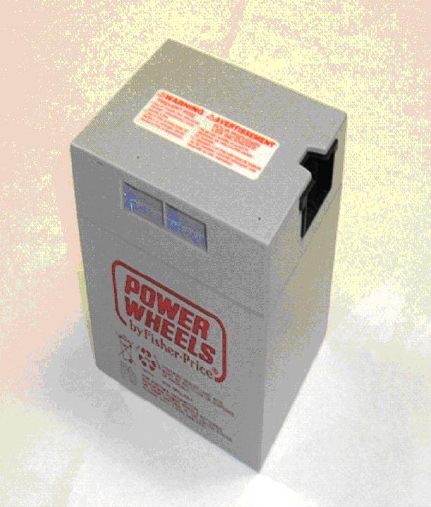 Power Wheels Kawasaki Quad KFX  Fisher Price 12 volt Battery