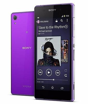 Unlocked New Original Sony Xperia Z2 D6503 - 16GB 4G LTE 20MP Smartphone Purple, used for sale  Shipping to South Africa