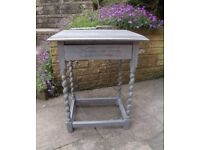 Shabby Chic Vintage Side Table
