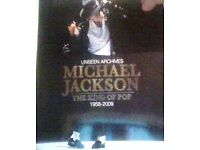 micheal jackson,the king of pop.book.