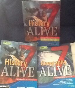 YEAR 7 - HISTORY ALIVE TEXT BOOKS Thornlie Gosnells Area Preview