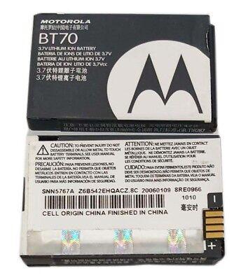 Motorola Battery Extended BT70 SNN5767A V325i V360 V360v VE440 V190 V195 V197 Motorola V325i