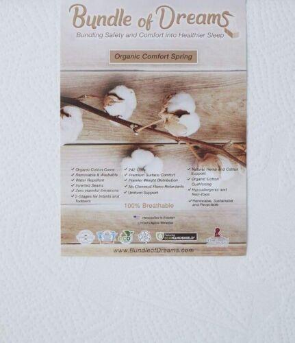 "Bundle of Dreams 6"" Crib Mattress with Organic Cover"