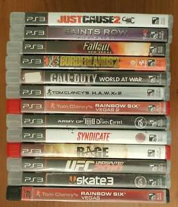 Play Station PS3 Game lot