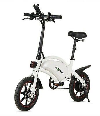Bici electrica plegable mini de 250w bateria de 36v 6-8Ah ligera pedales...